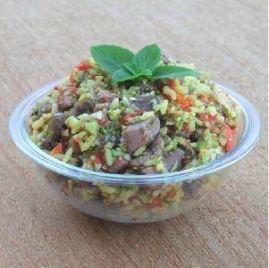 Comida natural para cães - 5 pacotes 500g sabor bovino