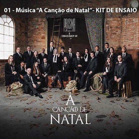 """""""A Canção De Natal"""" (Música 01) - Kit De Ensaio"""