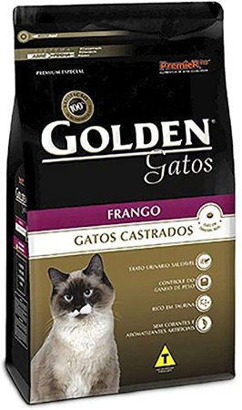 Golden Gato castrado 3 kg Frango