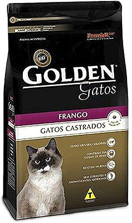 Golden Gato castrado 10 kg Frango