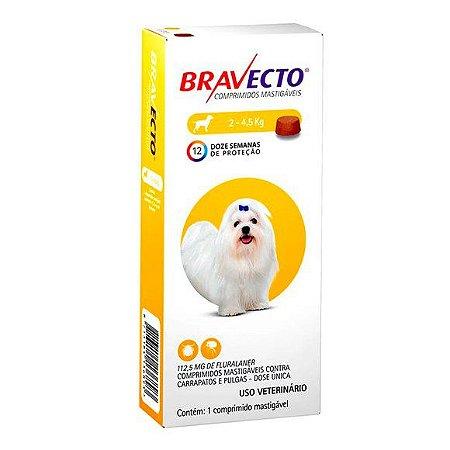Bravecto 2 a 4,5 kg