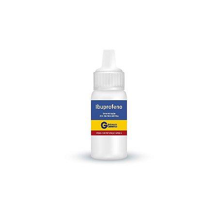 Ibuprofeno Gotas 50mg/mL da Geolab - Caixa com 1 frasco Gotejador com 30mL