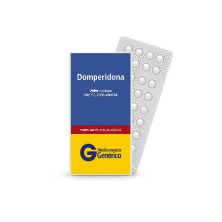 Domperidona de 10mg da Legrand - Caixa com 60 Comprimidos