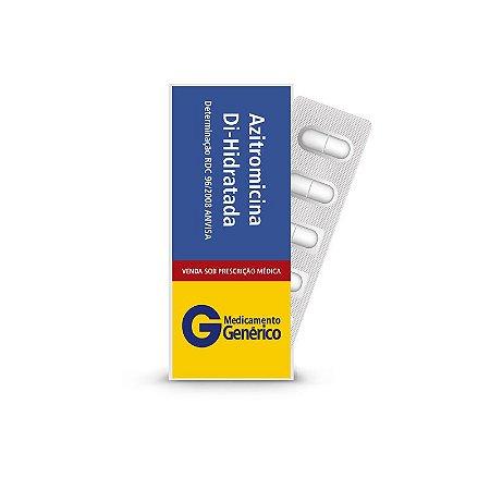 Azitromicina Di-Hidratada 500mg da Pharlab - Caixa com 5 comprimidos