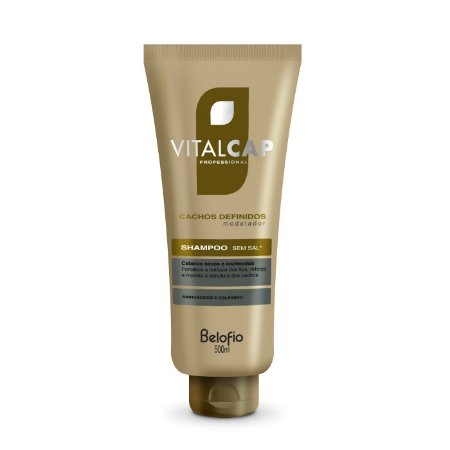 Shampoo Vitalcap Cachos Definidos 500ml
