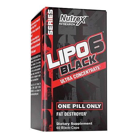 Lipo 6 Black U.C Importado (60 Cápsulas) - Nutrex