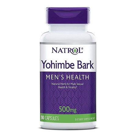 Yohimbe 500mg (90 Cápsulas) - Natrol