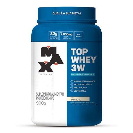 Top Whey 3W Mais Performance (900g) - Max Titanium
