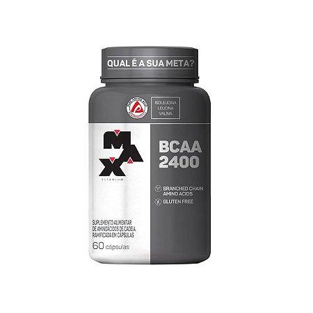 BCAA 2400 (60 Cápsulas) - Max Titanium