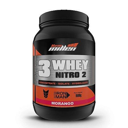 3 Whey Nitro 2 (900g) - New Millen