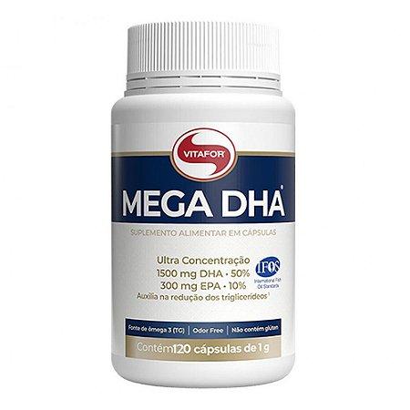 Mega DHA 1800mg (60 Cápsulas) - Vitafor