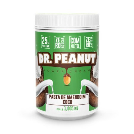 Pasta de Amendoim Coco (1k) - Dr Peanut