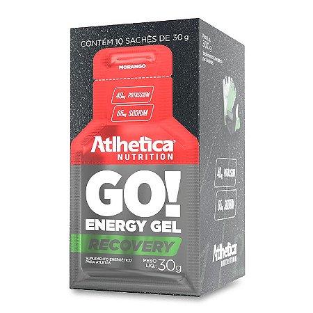 GO! Eenergy Gel Recovery (10 Sachês de 30g) - Atlhetica Nutrition