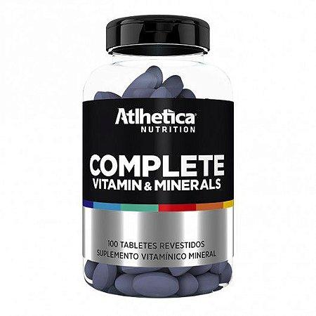 Complete Vitamin & Minerals (100 Tabletes) - Atlhetica Nutrition