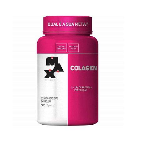 Colageno Hidrolisado Colagen (100 Cápsulas) - Max Titanium