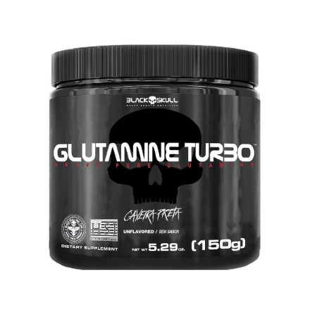 Glutamina Turbo (150g) - Black Skull