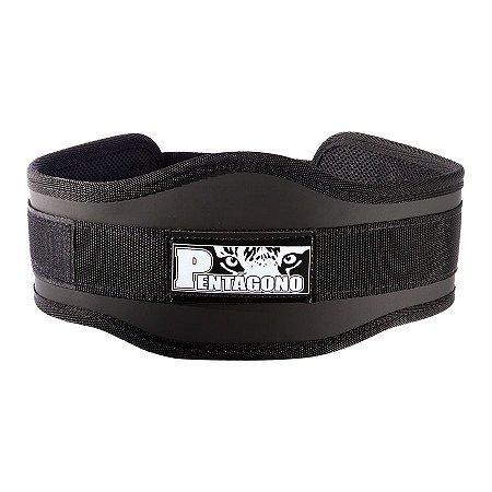 Cinturão Musculação Crossfit Sport c/ Apoio da Lombar - Pentágono