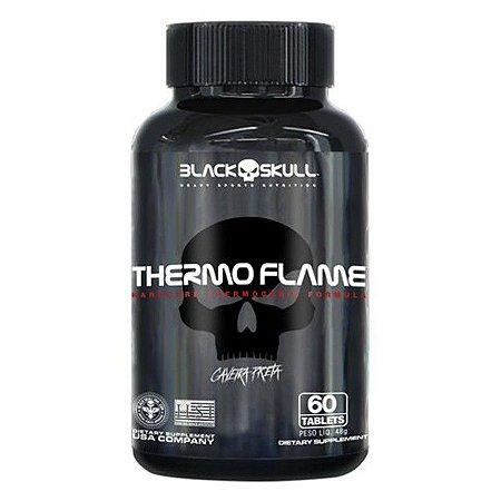 Termogênico Thermo Flame  (60 Tabletes) - Black skull