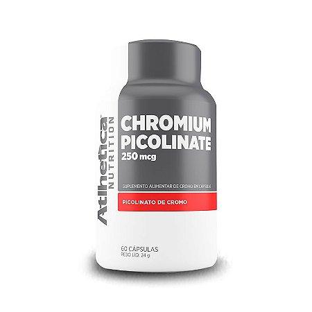 Picolinato de Cromo (60 Cápsulas) - Atlhetica Nutrition