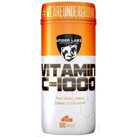 Vitamina C-1000 (100 Tabletes) - Under Labz