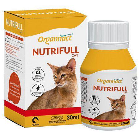 Suplemento Vitamínico Organnact Nutrifull Cães e Gatos