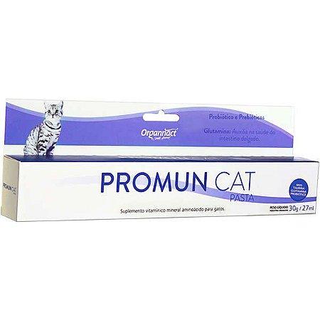 Suplemento Organnact Promun Cat Pasta - 27 mL