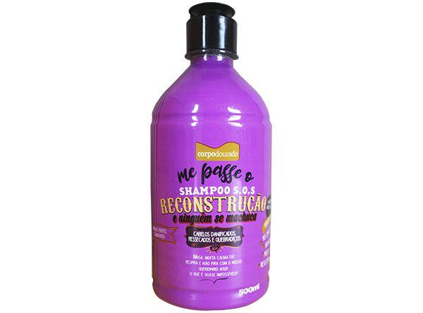 Shampoo S.O.S. Reconstrução Me passe e Ninguém se Machuca 500ml