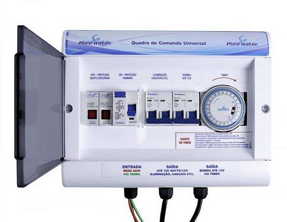 Quadro de Comando Universal 1CV - 220V - Pure Water