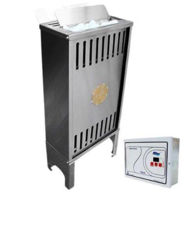 Sauna seca elétrica finlandia fix mix 6 kw 220v impercap