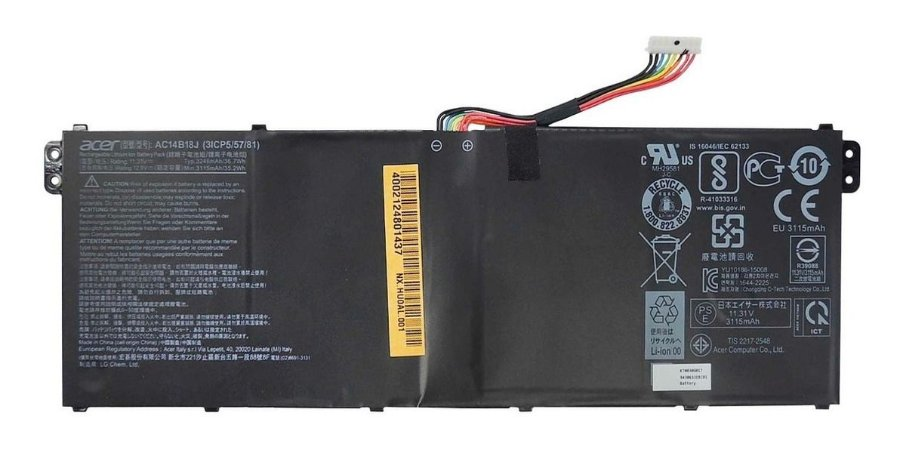 Bateria Acer Aspire E3 Es1-511 Es1-512 Ac14b18j (13226)
