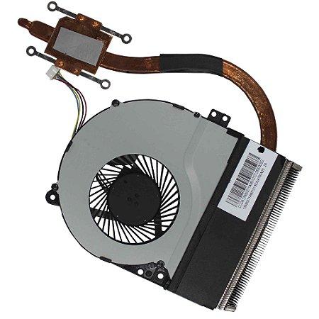 Cooler + Dissipador Asus X450c 13nb0271am0101 (11229)