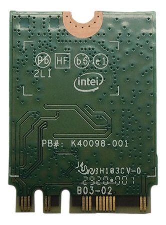 Placa Wi-fi Intel Ax200ngw Bluetooth 5.0 2.4gbps (13601)