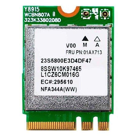 Placa Wifi Adaptador De Rede Sem Fio Qcnfa344a (13411)
