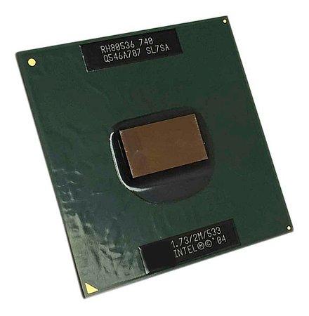 Processador Notebook Intel Pentium M 740 Sl7sa 1.73 (13820)