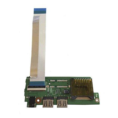 PLACA AUXILIAR USB / SD CARD NOTEBOOK LG U460 / EAX65631901