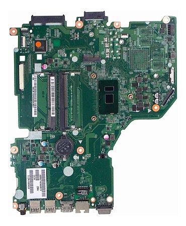 Placa Mãe Notebook Acer Aspire E5-574 Proc.i3 6100u (13844)