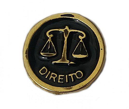 MEDALHA DE DIREITO PRETA