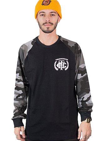 Camiseta Long Sleeve  Brasão