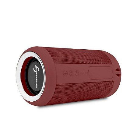 Caixa de Som Portátil Opoolo X7 Resistente à Água - Vermelha