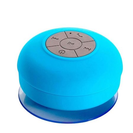 Caixa de Som Xtrad Bluetooth Resistente à água - Azul