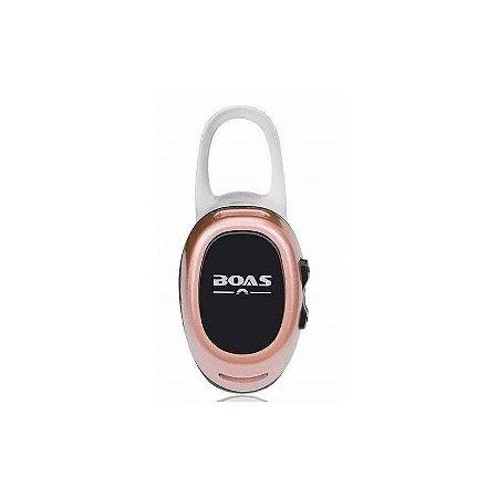 Micro Fone de Ouvido Boas Xtrad Wireless via Bluetooth Sem Fio - Rose