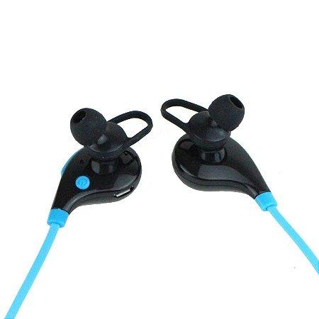 Fone de Ouvido Xtrad Bluetooth  Universal Sem Fio Azul