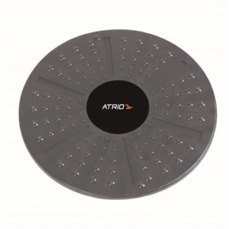 Disco De Equilíbrio Fitness Atrio Cinza/Preto