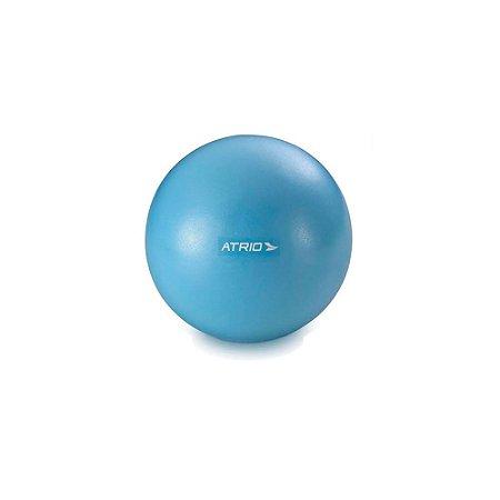 Mini Bola Atrio Fitness para Exercícios Material PVC Antiderrapante Azul