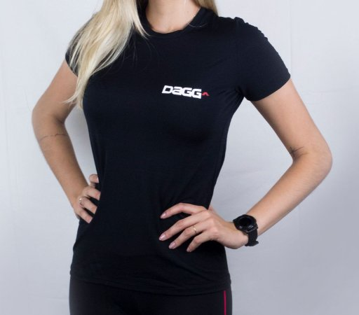 Camisa Feminina Esportiva Black Dagg
