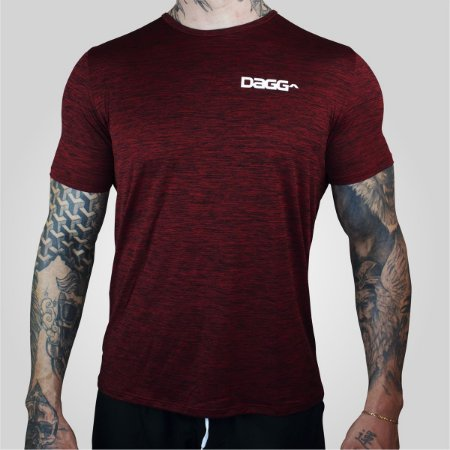 Blusa Masculina Workout Red Dagg