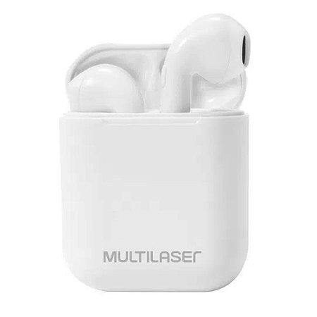Airbuds Fone Bluetooth 5.0 Branco Multilaser