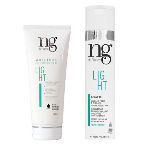 Kit Ng De France Shampoo Light 250ml + Condicionador Light 200ml