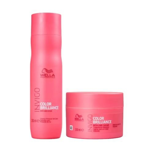 Kit Wella Shampoo Invigo Color Brilliance 250ml + Máscara 150ml