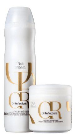 Kit Wella Oil Reflections Shampoo 250ml + Máscara 150ml